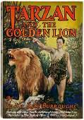 30265: Edgar Rice Burroughs. Tarzan and the Golden Lion