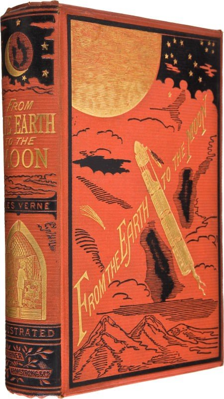 30496: Jules Verne. From the Earth to the Moon Direct i