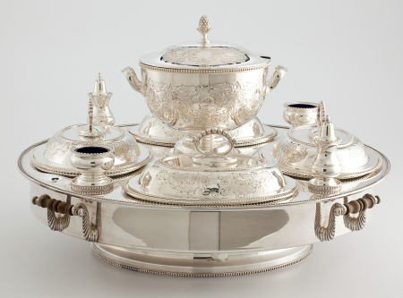 86006: Whoopi Goldberg Collection  VICTORIAN SILVER-PLA