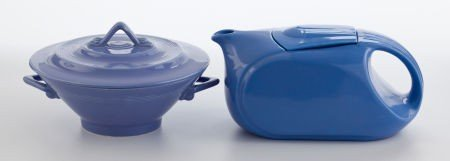 86020: Whoopi Goldberg Collection  BLUE FIESTA TYPE TEA