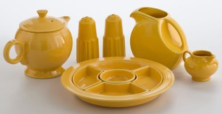 86022: Whoopi Goldberg Collection  GROUP OF MUSTARD YEL
