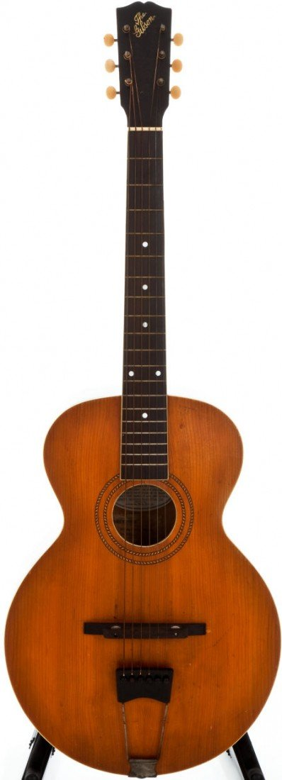54001: 1914 Gibson L-1 Natural Archtop Acoustic Guitar,