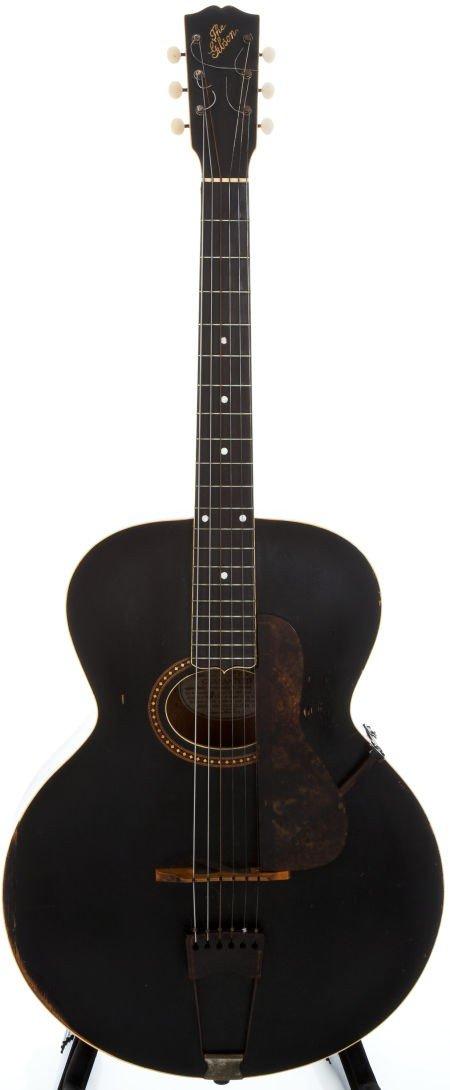 54002: 1915 Gibson L-4 Black Acoustic Guitar, #22239.