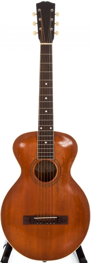 54004: 1922 Gibson L-1 Natural Archtop Acoustic Guitar,