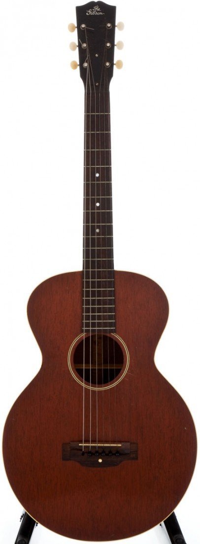 54005: 1928 Gibson L-0 Natural Acoustic Guitar, #9004.
