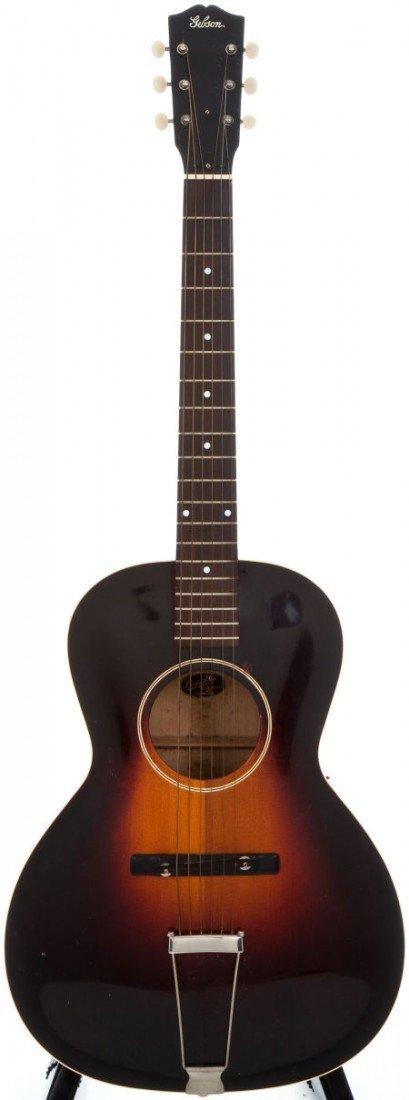 54006: 1930 Gibson L-50 Sunburst Archtop Acoustic Guita