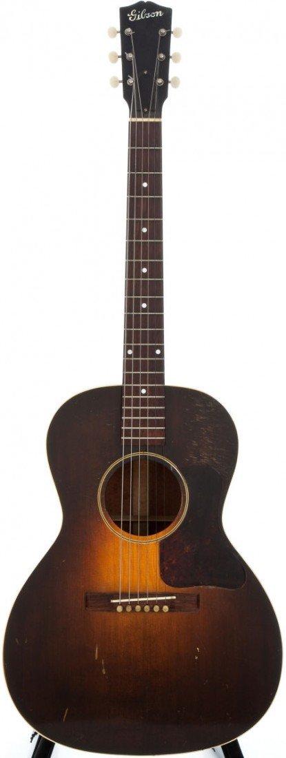 54007: 1931 Gibson L-1 Sunburst Acoustic Guitar, #323.
