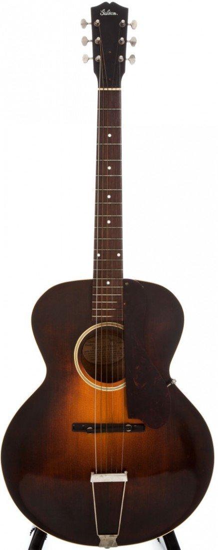 54008: 1932 Gibson L-4 Sunburst Archtop Acoustic Guitar