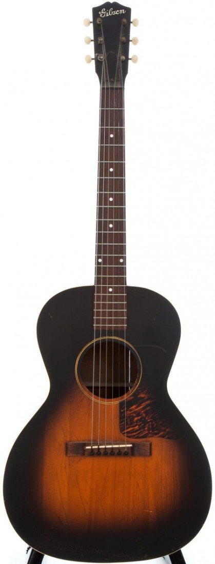 54009: 1935 Gibson L-00 Sunburst Acoustic Guitar, #N/A.