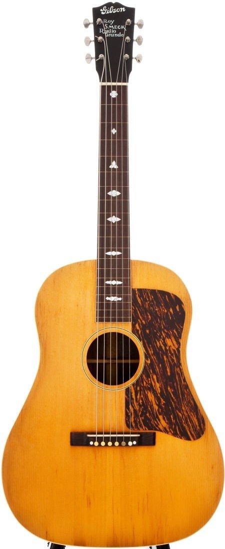54010: 1935 Gibson Roy Smeck Radio Grande Natural Acous