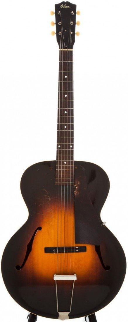 54013: 1936 Gibson L-50 Sunburst Archtop Acoustic Guita