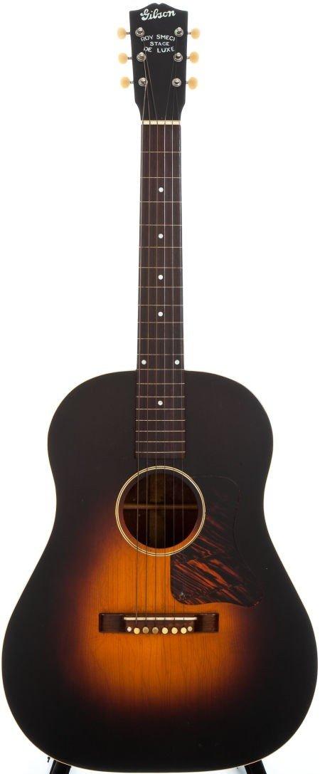 54014: 1936 Gibson Roy Smeck Stage Deluxe Sunburst Acou
