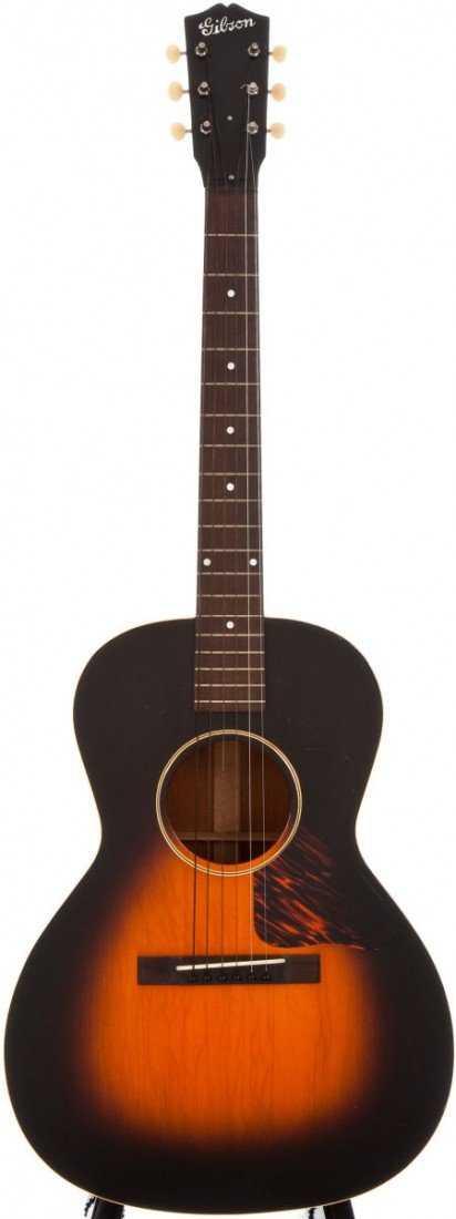 54016: 1936 Gibson L-00 Sunburst Acoustic Guitar, #1377