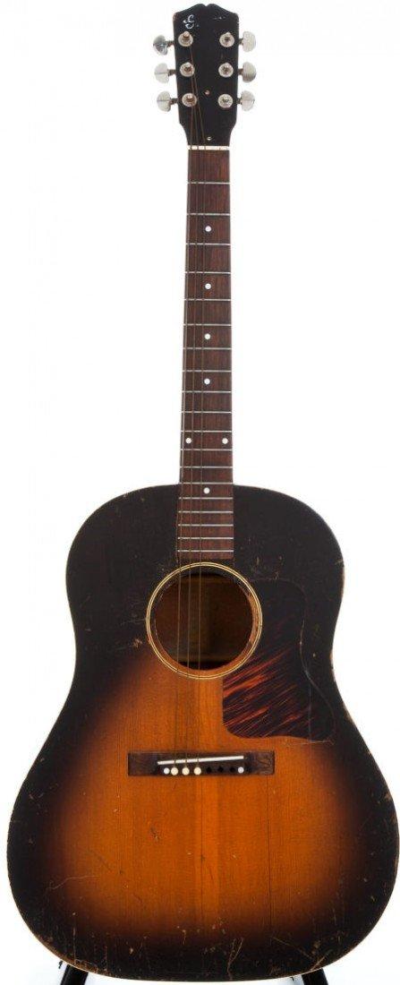 54017: 1938 Gibson J-35 Sunburst Acoustic Guitar, #DG-3