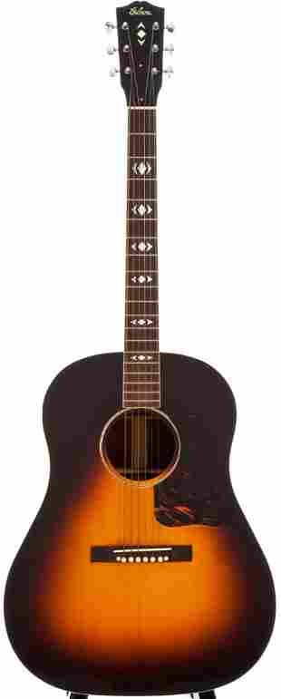 54018: 1938 Gibson Advanced Jumbo Sunburst Acoustic Gui