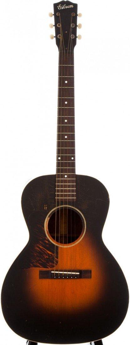 54019: Circa 1940 Gibson L-00 Sunburst Left-Handed Acou