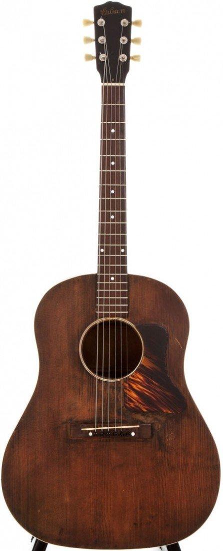 54020: 1940 Gibson J-35 Natural Acoustic Guitar, #N/A.