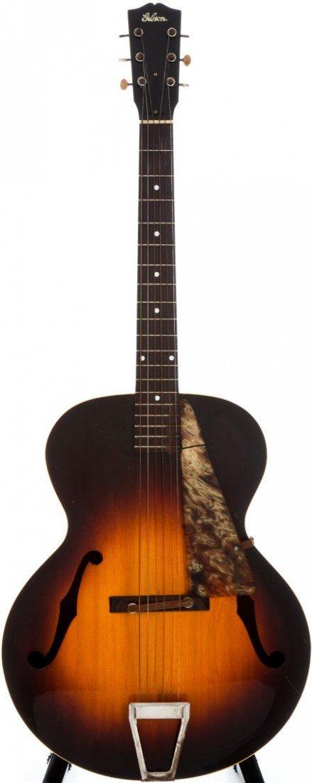 54023: 1942 Gibson L-4 Sunburst Archtop Acoustic Guitar