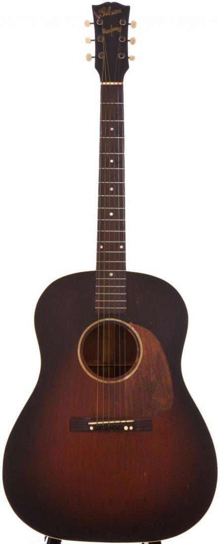 54024: 1944 Gibson J-45 Sunburst Acoustic Guitar, #2222