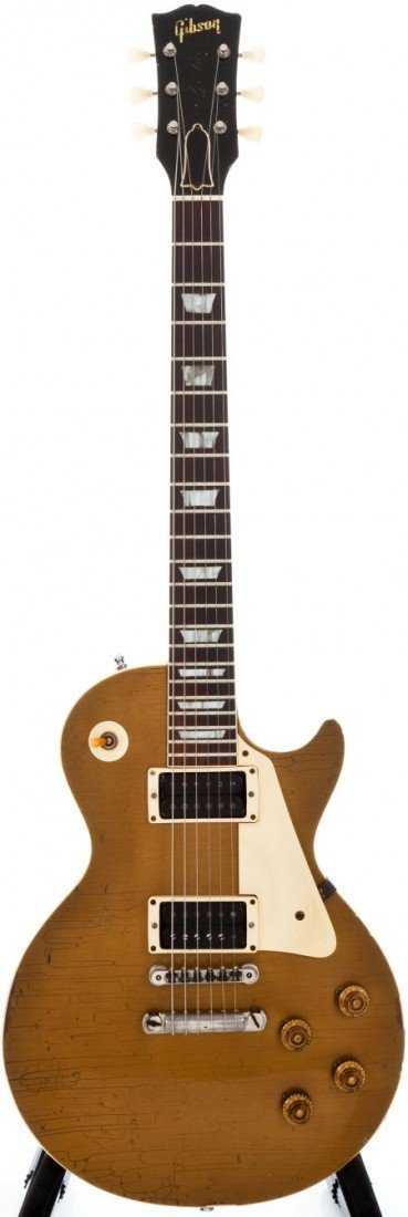 54367: 1957 Gibson Les Paul Standard Goldtop Solid Body