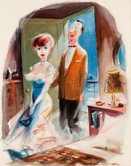 "78007: JACK COLE (American, 1914-1958) ""Like They Say i"