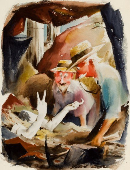 """78009: JACK COLE (American, 1914-1958) """"By George, I Be"""