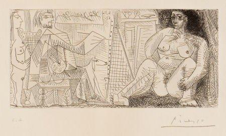 72005: PABLO PICASSO (Spanish, 1881-1973) Le peintre et