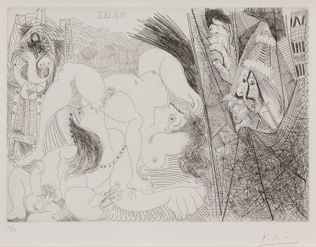 72006: PABLO PICASSO (Spanish, 1881-1973) Raphaël et la