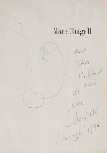 72010: MARC CHAGALL (Belorussian, 1887-1985) The Artist