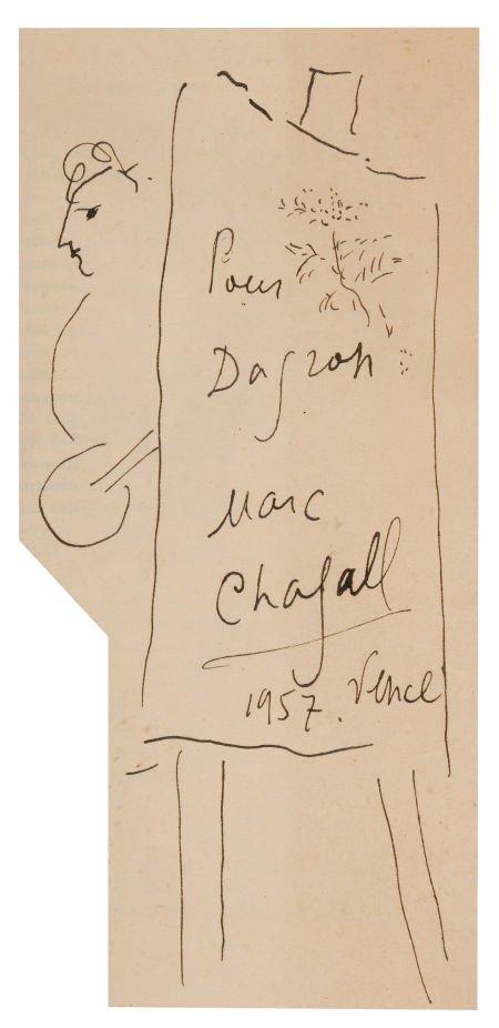 72011: MARC CHAGALL (Belorussian, 1887-1985) The Artist