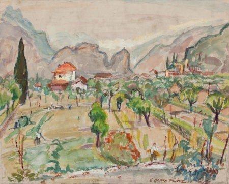 72015: ACHILLE EMILE OTHON FRIESZ (French, 1879-1949) V