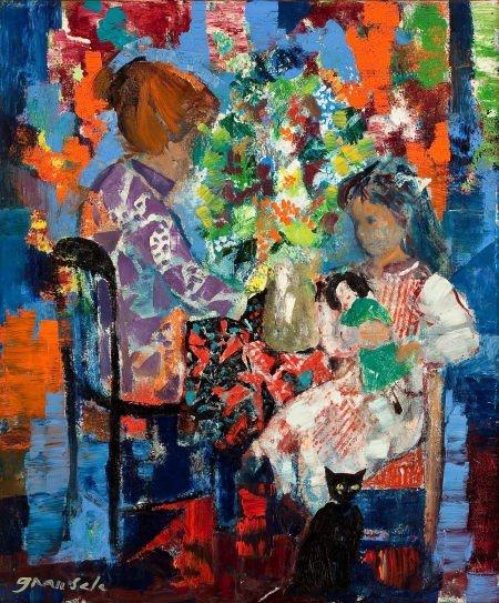 72017: EMILIO GRAU SALA (Spanish, 1911-1975) Untitled (