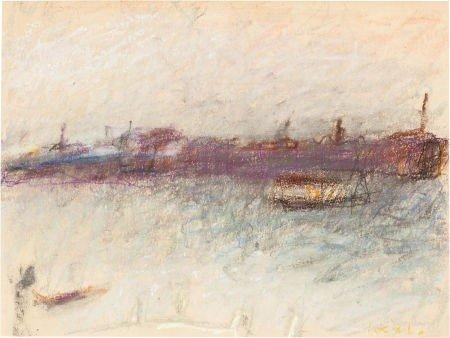 72022: WOLF KAHN (American, b. 1927) Venice Off Season