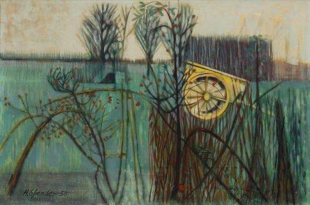 72023: JOHN HUMPHREY SPENDER (British, 1910-2005) Winte