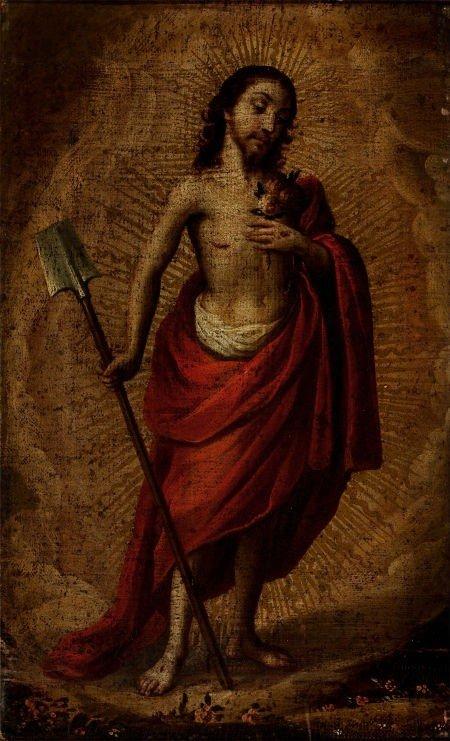 64001: CRISTÓBAL DE VILLALPANDO (Mexican, 1649-1714) Po