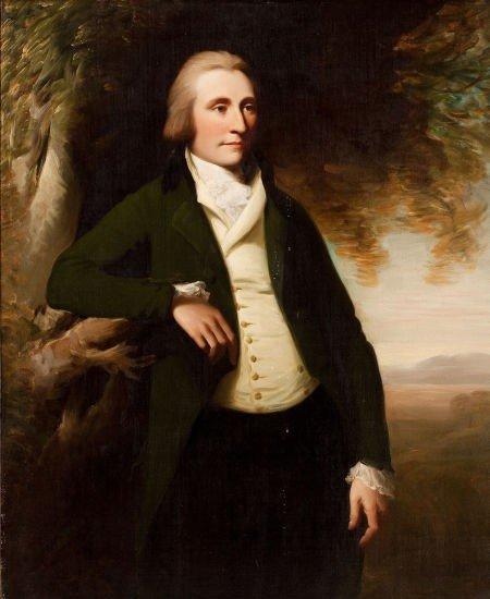 64002: Circle of GEORGE ROMNEY (British, 1734-1802) Por