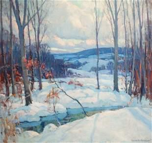 64124: EMILE ALBERT GRUPPE (American, 1896-1978) Winter