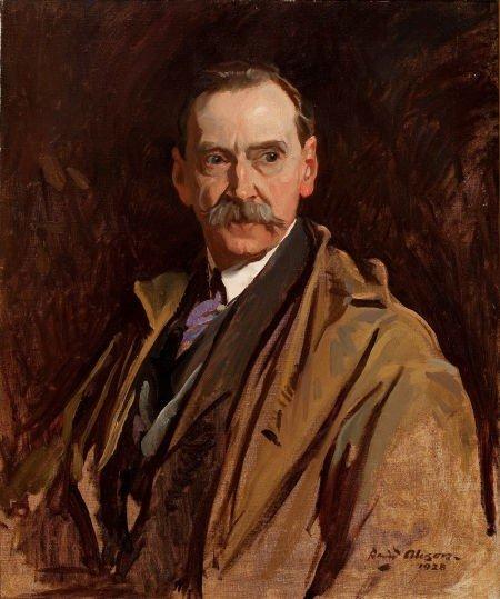 64005: DAVID ALISON (British, 1882-1955) Portrait of a
