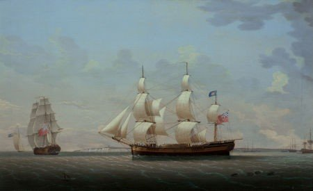 64013: ROBERT SALMON (Scottish/American, 1775-1844) The