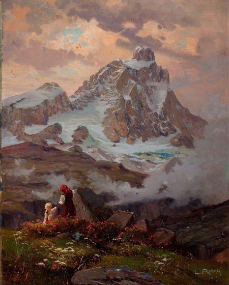 64016: LEONARDO RODA (Italian, 1868-1933) The Matterhor