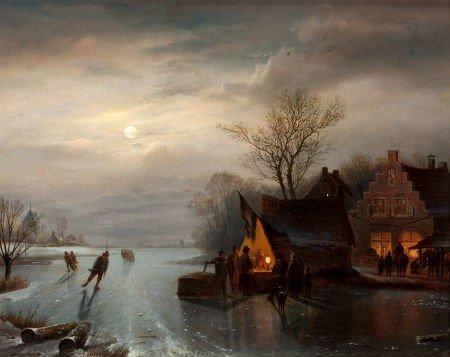 64021: CARL FREDERICK SORENSEN (Danish, 1818-1879) Amst