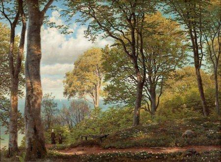 64022: PEDER MORK MÖNSTED (Danish, 1859-1941) Road to N