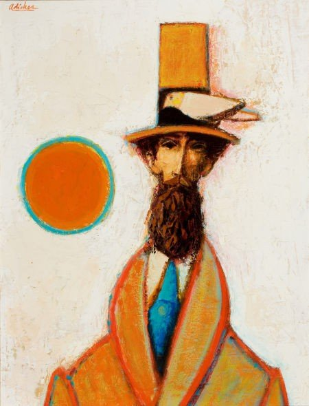 76078: DAVID PRYOR ADICKES (American, b. 1927) Abstract