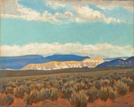 70006: MAYNARD DIXON (American, 1875-1946) Calico Hills