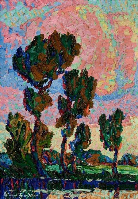 70021: BIRGER SANDZÉN (American, 1871-1954) Cottonwood
