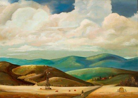 70007: ILA MAE MCAFEE (American, 1897-1995) New Mexico