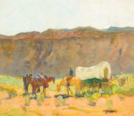 70009: OSCAR EDWARD BERNINGHAUS (American, 1874-1952) C