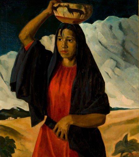 70012: JOSEPH AMADEUS FLECK (American, 1892-1977) India