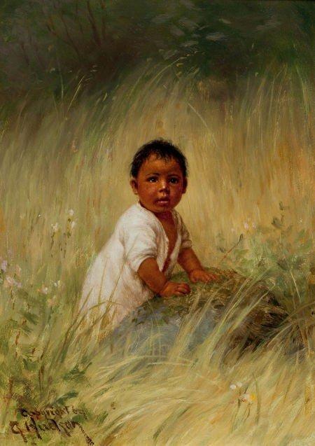 70013: GRACE CARPENTER HUDSON (American, 1865-1937) Por