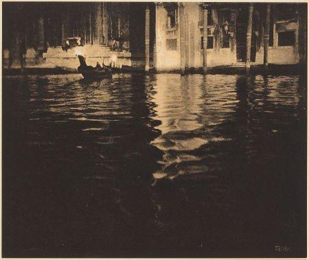 74002: EDWARD STEICHEN (American, 1879-1973) Late After